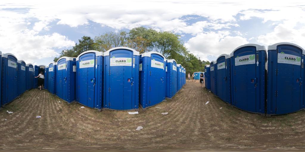 Serengeti Festial, Toiletten, Claro, Happy Entsorgung, Freitag 19,7.2013